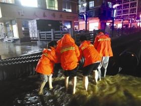 暴雨预警!石狮市防汛抗旱指挥部启动防暴雨Ⅳ级应急响应