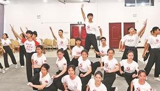 加强同学日常训练 为开闭幕式输送优秀演艺人员