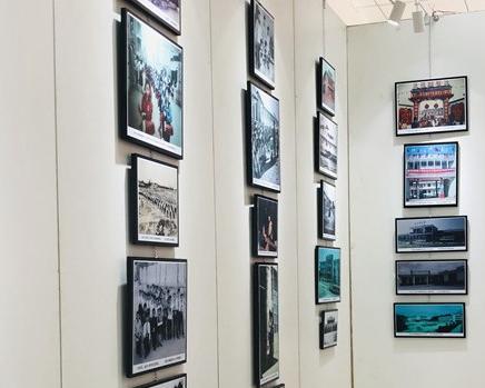 2000余张老照片反映不同历史时期家乡奋斗与成就