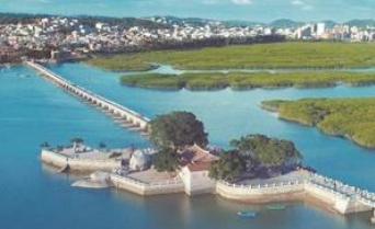 台商投资区洛阳桥 体现闽南古建筑灵与魂