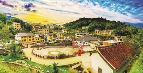 高安镇坪水村特色村寨 自然资源与文化底蕴并存