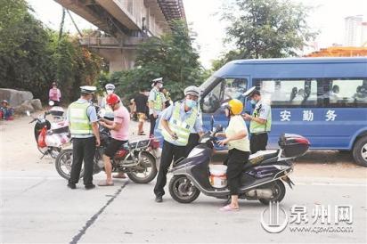 台商区开展交通违法行为专项整治 严格查处交通乱象