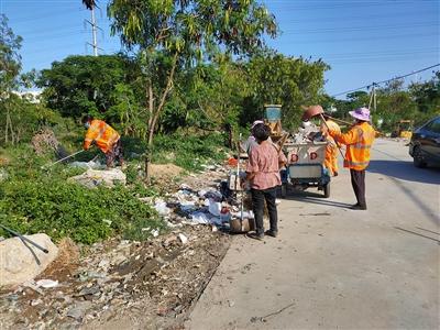 宝盖镇开展卫生综合整治行动 改善辖区环境质量