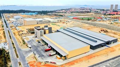 """石狮为企业提供""""保姆式""""服务 12个项目正在全速建设"""