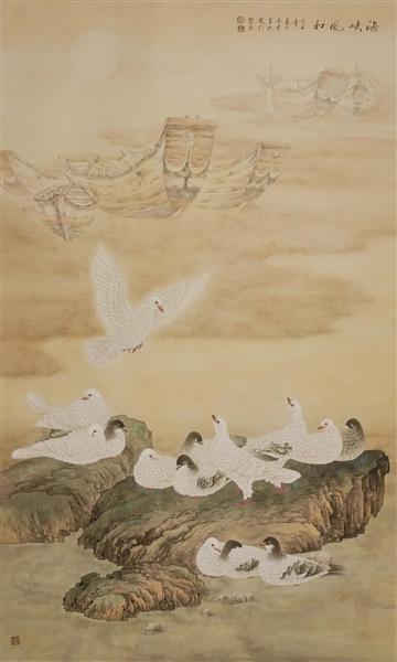 陈禾青及其19位学生近150幅工笔画作品举行展览
