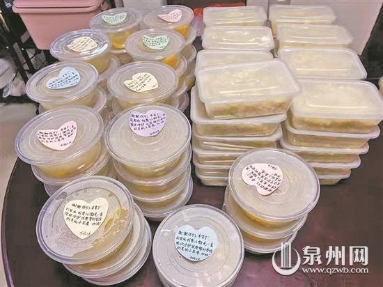 爱心人士或商家加入送爱心餐队伍 为一线人员提供热食