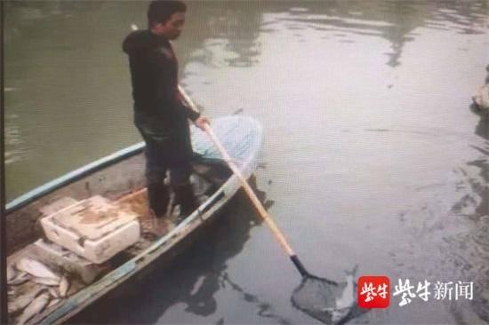 村民为给孙子弄野鱼吃 用电捕鱼被民警逮个正着