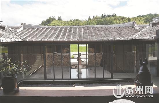 德化佛岭村赋予老宅新内涵 吸引大量游客来参观
