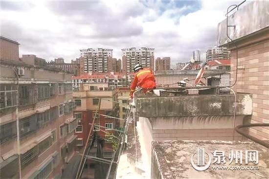 惠安消防救援支队忙不停 两天接到8起救助警情
