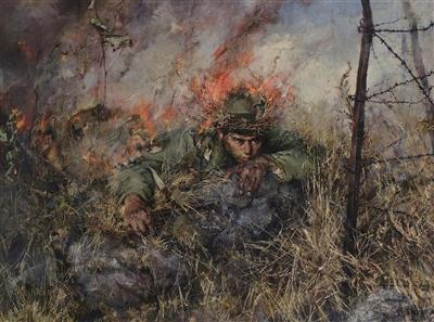 邱少云:年轻战士任凭烈火焚身 也决不暴露潜伏部队