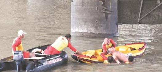 鲤城举行水上救援应急演练 提高突发警情作战能力